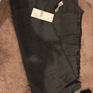 Nordstrom rack beautiful grey scarfs new with tags